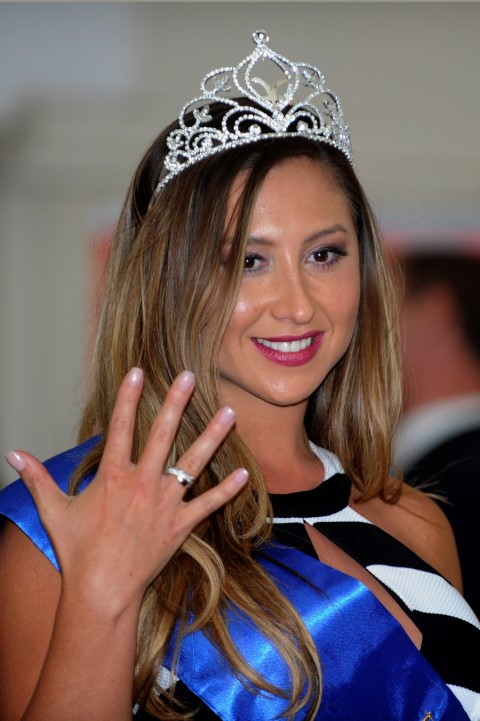 Trajes De Baño Vintage Vina Del Mar:Nicole Moreno es coronada reina del Festival de Viña del Mar 2016