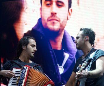Los Vásquez abrieron el show de la Gran Noche Corazón