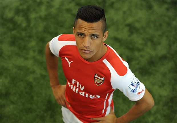 camiseta de alexis sanchez arsenal