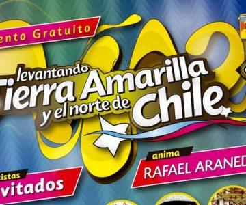 María José Quintanilla y Tomo Como Rey encabezan show en Tierra Amarilla
