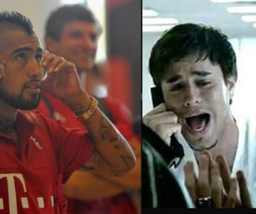 Bullying a Arturo Vidal por destruir tema de Enrique Iglesias