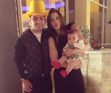 Gary Medel celebra así el cumple de su esposa, la bella Cristina Morales