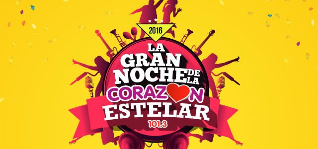 ¡Felicitaciones! Ya tenemos ganadores de las entradas dobles para la Gran Noche de La Corazón