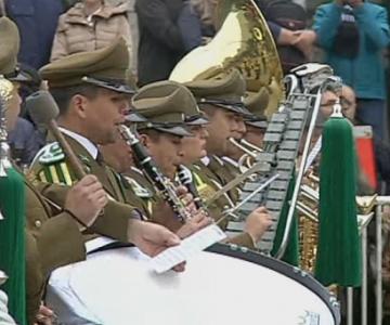Carabineros de Chile también le rindieron homenaje a Juan Gabriel
