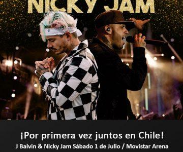 J Balvin y Nicky Jam vuelven a nuestro país para dar un concierto