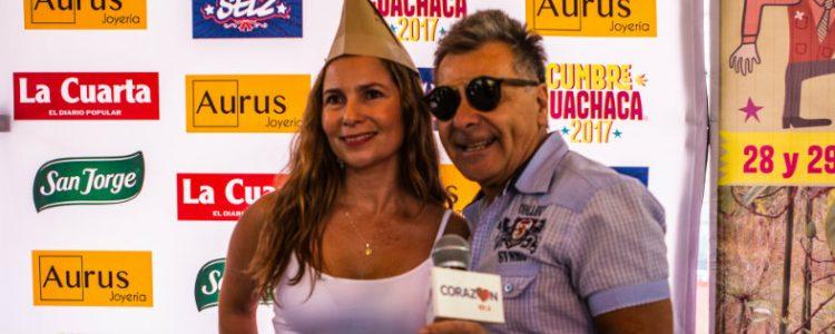 Nuestra sita Evelyn Bravo lanzó su candidatura a Reina Guachaca 2017
