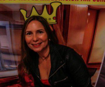 GALERÍA: Evelyn Bravo asistió al Debate Guachaca