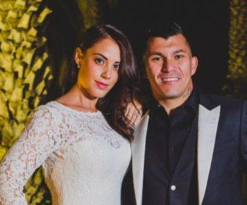 Cristina Morales envió romántico saludo de cumpleaños a Gary Medel