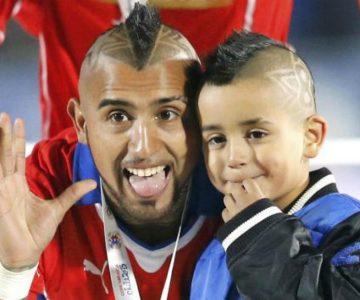 """Hijo de Arturo Vidal se lució con un """"gol imposible"""""""