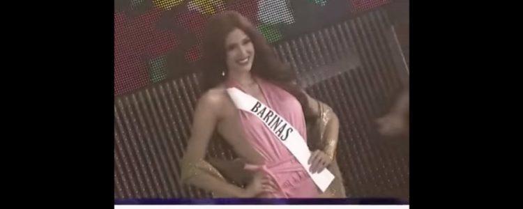 El vergonzoso momento que vivió una participante de Miss Earth Venezuela