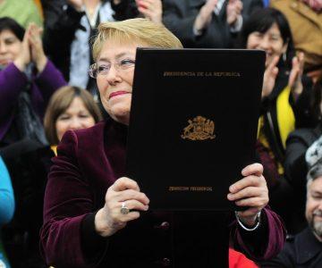 Michelle Bachelet promulgó la ley de aborto en tres causales