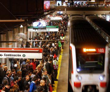 Cambio de color en estaciones de L2 y L5 del Metro durante Ruta Expresa