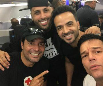 Artistas puertorriqueños se unieron para ayudar a damnificados de su país