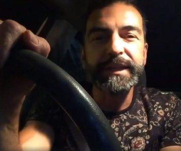 Revelan la verdad tras el vídeo del accidente de tránsito de Jorge Alís