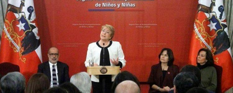 "Presidenta Bachelet promulgó la ""Ley Sanna"""