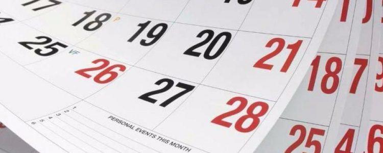 Estos son los feriados que trae el 2018