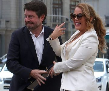 El divertido chascarro que protagonizó Cathy Barriga con Claudio Orrego
