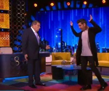 La divertida imitación de Stefan Kramer a Ricky Martin