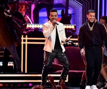 Daddy Yankee y Luis Fonsi encendieron el escenario de los premios Grammy