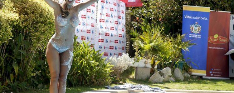 Jhendelyn Núñez desclasificó intensa pataleta tras piscinazo en Viña 2015