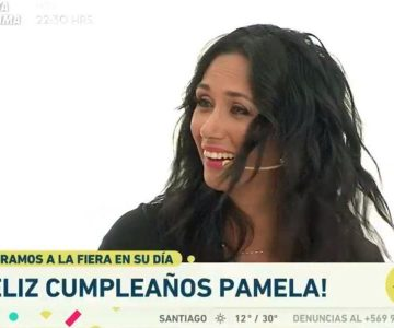 El divertido chascarro de Pamela Díaz en su cumpleaños