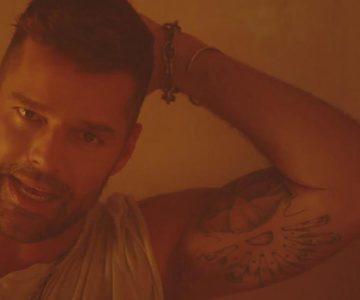 Ricky Martin estrena videoclip de su nueva canción