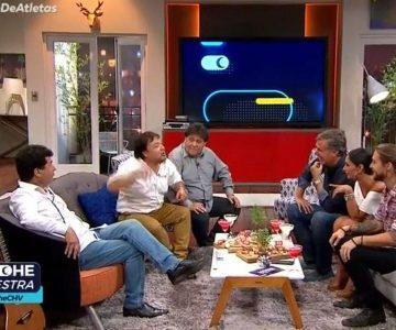 """El divertido comentario de Pamela Díaz a los """"Atletas de la risa"""""""