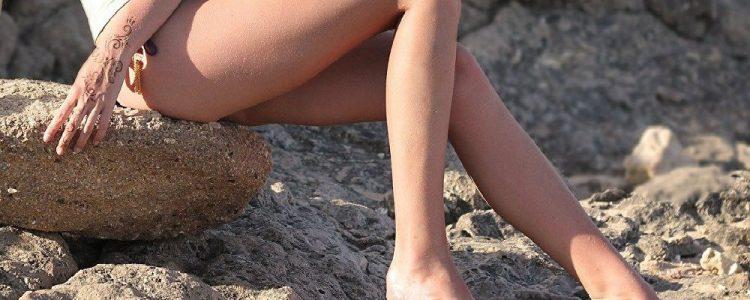La modelo sueca que tiene tremendas piernas e impacta a todos con sus fotografías