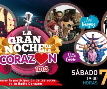 La Gran Noche De La Corazón 2018: Se viene la fiesta de Chile