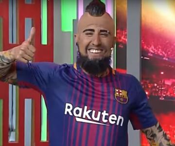 Comediante boliviano vuelve a dárselas de Arturo Vidal