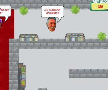 """""""Ayuda a Jorge a escapar de la terrible Paty"""": El juego que la rompe en redes sociales"""