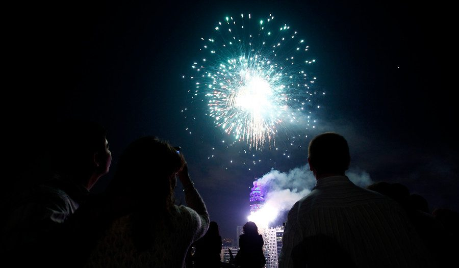 Ano Nuevo Asi Seran Los Desvios Previo Y Post Show De Fuegos