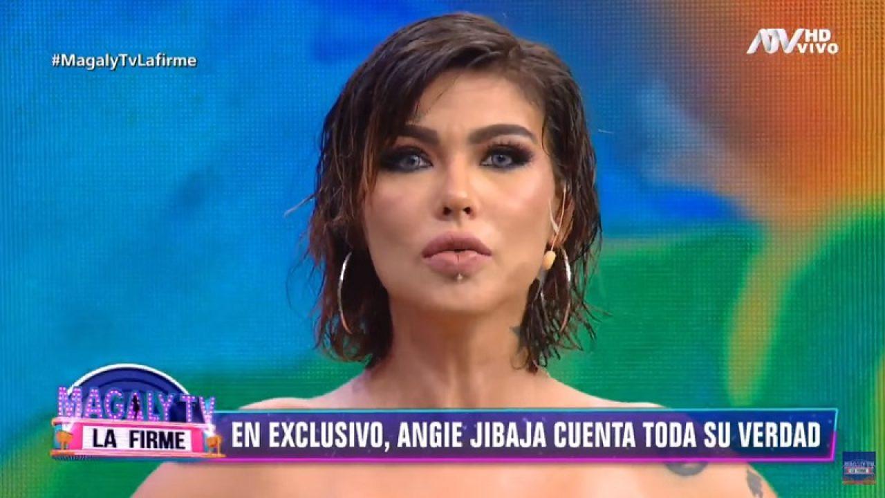 Angie Jibaja angie jibaja impactó al confesar que recayó en la drogas