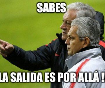 Fuera Rueda: El DT de la Roja protagonizó los memes del empate de Chile