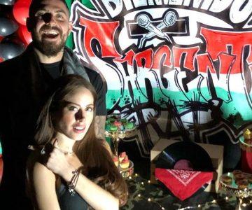 La picarona sesión de fotos de Ignacia Michelson y Sargento Rap