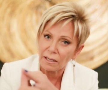 Raquel Argandoña contó que su pololo le dio la cortada por broma sobre Hernán Calderón