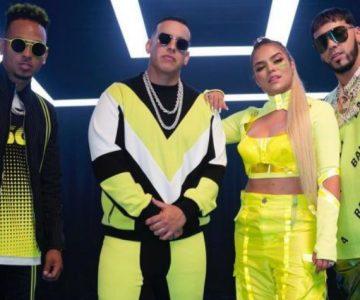 Daddy Yankee, Ozuna, Karol G, Anuel AA Y J Balvin estrenan canción juntos