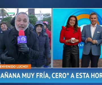 Sin presentación ni nada: Así fue el regreso de Luis Jara a «Mucho Gusto»