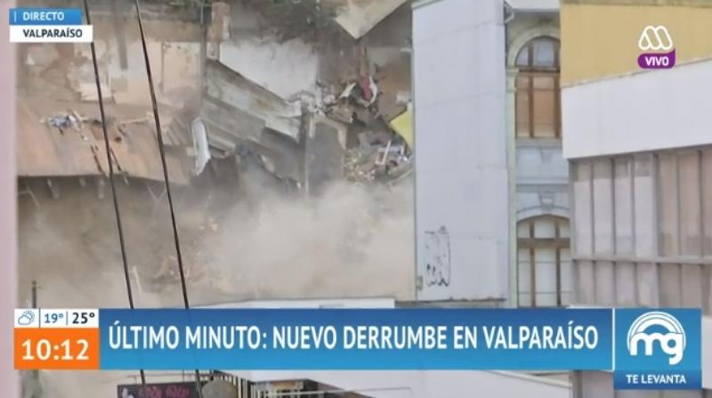 Derrumbe Valparaíso
