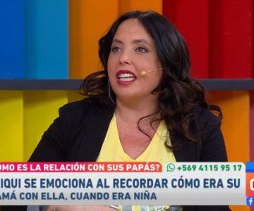 Hasta las lágrimas se emocionó Chiqui Aguayo al hablar de su mamá