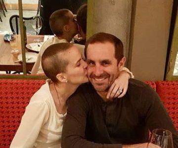 Con emotiva reflexión el esposo de Javiera Suárez volvió al trabajo
