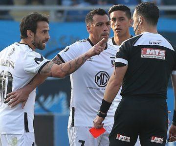 Los ordinarios dichos de Jorge Valdivia contra árbitro antes de ser expulsado de Colo Colo vs O'Higgins