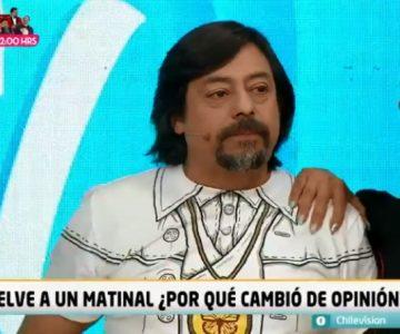 Bombo Fica llegó a «Viva la pipol» luego de decir que no volvería a un matinal