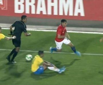 Jugador de la Selección Chilena Sub 23 peleó contra tres brasileños