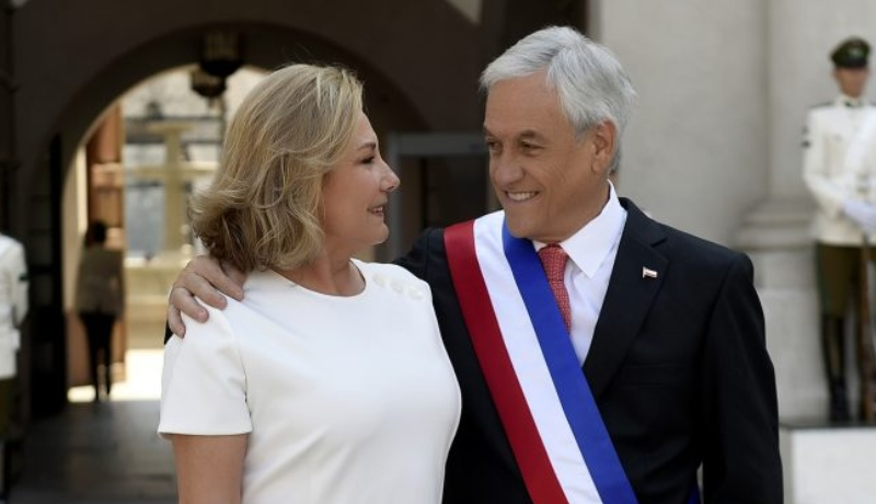 Sebastián Piñera Cecilia Morel