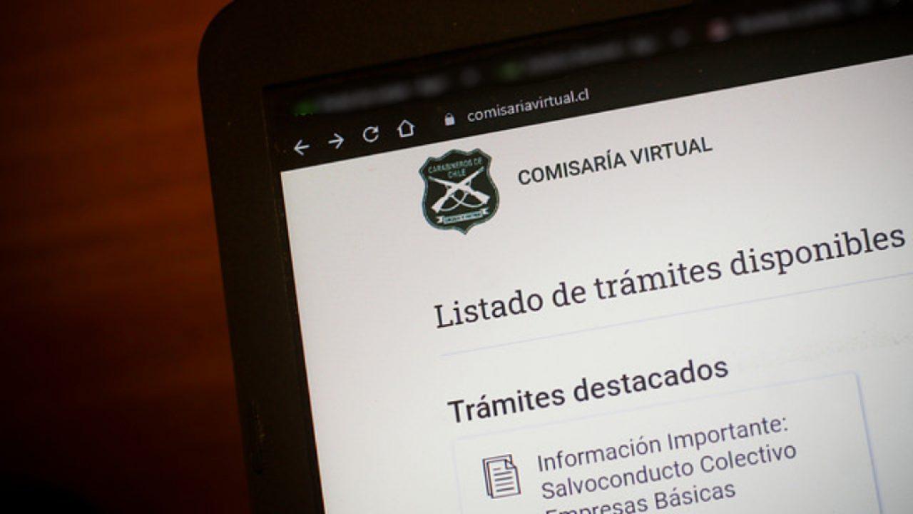 Comisaría Virtual permisos