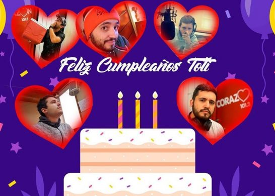 Cumpleaños Toti