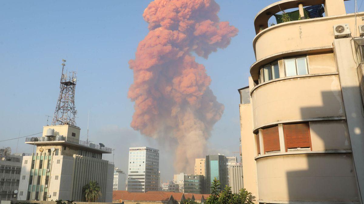 Líbano explosión