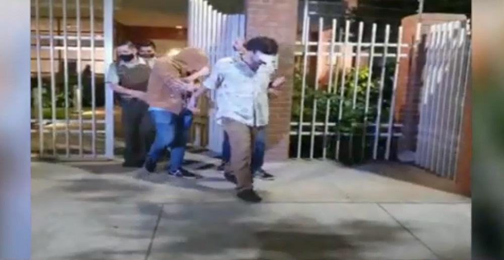 Detenidos fiesta Las Condes