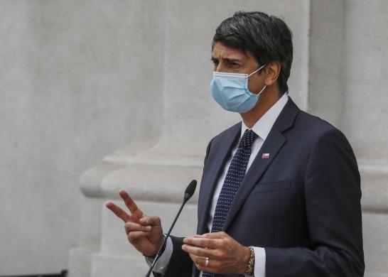 Ministro Couve (fuente_ Agencia Uno)
